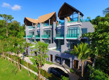 Bukit pool villas - Front view
